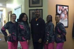 Dr. Max Gilliam and the friendly staff